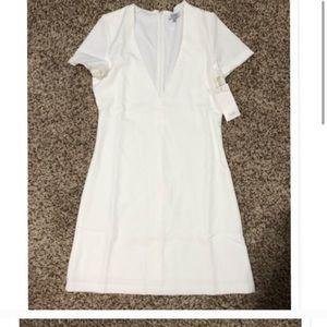 Never worn white Tobi dress